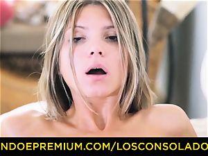 LOS CONSOLADORES - Russian Gina Gerson drilled in FFM