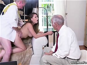 plow his senior mate playfellow s step-sister Ivy makes an impression with her huge joy bags and bootie