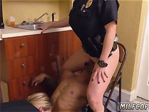 fantastic mexican milf and vintage youthfull ebony male squatting in home gets our cougar officers
