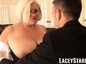LACEYSTARR - servant GILF butt plunged by Pascal white