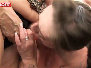 LETSDOEIT - Mature Swinger couple Help Their grandmother cum