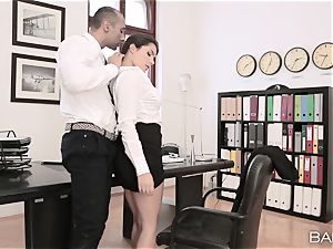 Valentina Nappi undresses off and pounds her manager