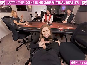 VRBangers.com-Busty stunner is pulverizing firm in this agent