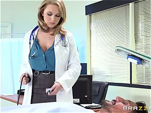 super hot doctor Brooke Wylde makes this patient all better