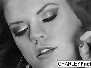 Charley and her gf smoke and have a little fun