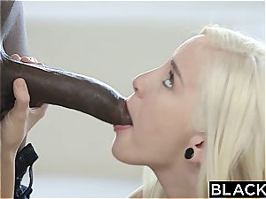 mischievous Naomi woods takes her first big black cock