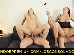 LOS CONSOLADORES - Hungarian blond gets screwed pov