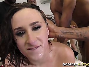 Ashley Adams Gets Her Face ferociously smashed by BBCs