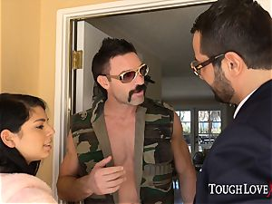 TOUGHLOVEX Gina Valentina disciplined for being a bad gal
