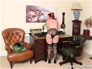 sandy-haired is antique nylon fetish superslut at wank Off Club