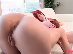 ultra-kinky red-haired Stepsisters hot lesbian activity