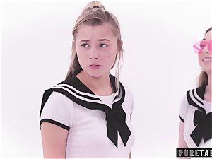 pure TABOO pervert Busdriver Clones schoolgirls into VR