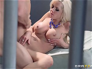 Nina Elle romps a marvelous con in front of her cheating hubby
