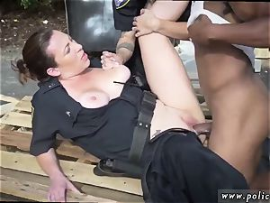 hotwife interracial seconds and vintage three way first-ever time I will catch any perp with a