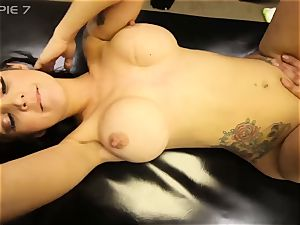 LEXI NICOLE GETS 5 CREAMPIES IN gang-bang