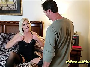 Evan's Anniversary bang-out with Ms Paris Rose