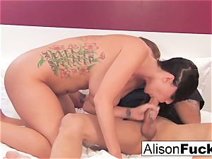 Alison gets her muff nailed