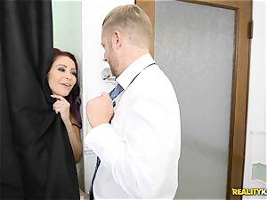Latina maid Katya Rodriguez bud delights with Monique Alexander