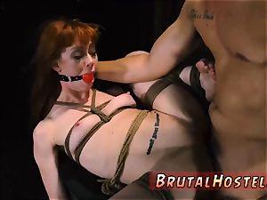 restrain bondage corded gagged wondrous youthful girls, Alexa Nova and Kendall woods, take a train-ride