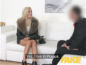 faux Agent european dame luvs providing orb masturbate and blow-job