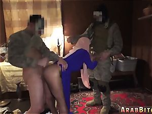 Arab girl muslim smash and shaft Local Working doll