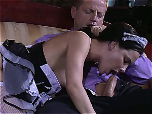 nasty maid will do anything for the sir