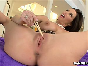 Veronica AvLuv plumbed by a enormous meatpipe
