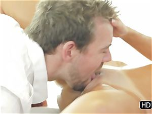 Dillion Harper getting a utter on sexual massage