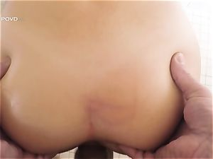 pov - wonderful superstar Joseline Kelly plunged in her taut pussylips