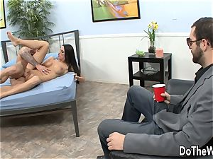 Cuck watches wife Kortney Kane Get boned