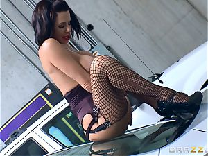 mischievous mature Veronica Avluv bent over and pulverized