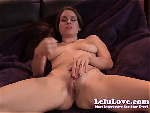 Lelu Love-Virtual munch jism On gash