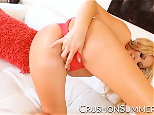 CrushGirls - Summer Brielle enjoys playing with herself