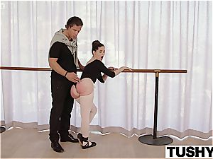 TUSHY youthful Ballerina investigates anal hook-up with schoolteacher