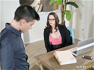 Working rigid with Chanel Preston