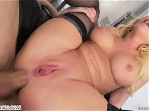 German star Kagney Linn Karter - hard-core 3some