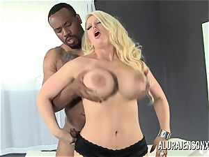 massive jug adult movie star Alura Jenson luvs giant black spear