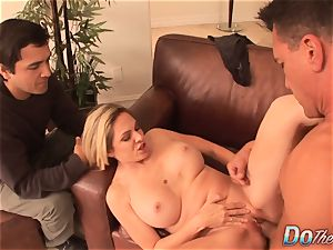 Housewife Angela Attison booty romping