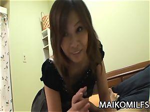 Machiko Nishizaki - nasty JAV wifey plumbed By A Stranger