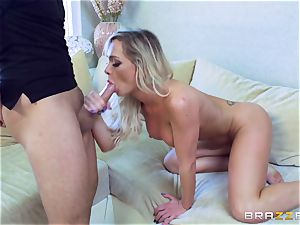 taunting blondie fate Dixon packed by Keiran Lee