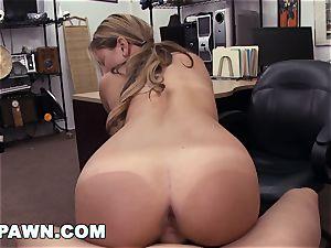 hardcore PAWN - Waitress Desperate For Cash Sells Her ass