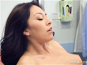 Kara fake medical slit check up