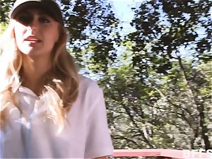 Camping all girl romp with Alexa grace and friends