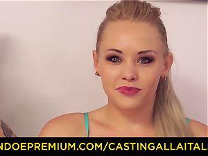 CASTNG ALLA ITALIANA - blond vixen raunchy double penetration romp