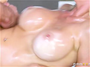 My best pal 's humungous huge-titted bitchy mother Alexis Fawx takes my boner