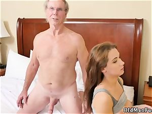 superb elderly missionary and verified amateurs parent presenting Dukke
