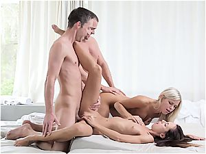 wildly scorching gang bang-out compilation