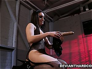 DeviantHardcore - flesh Diamond Fetish pulverize with Gabriella Paltrova