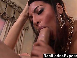 RealLatinaExposed steaming Latina enjoys to